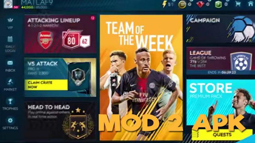 FIFA Soccer 2019 ELECTRONIC ARTS Hack Mod Apk, Cheat Code